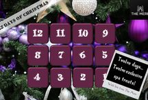 12 Days of Mere / With Christmas just around the corner, we have a few stocking fillers of our own for the 12 days of Christmas!  We'll be unveiling a new spa offer each day. Simple quote  '12 Days of Mere' on booking to redeem the offer.