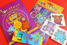Monsters Party Bags & Fillers