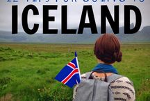 Siblin' Trip Through Iceland / My brother and I are going to Iceland summer of 2016. This is our plans / by Kamy Jesse