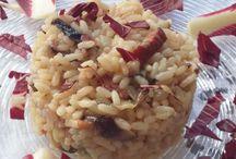risotti / Squisito risotto al radicchio e gorgonzola