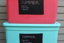Storage Ideas / by Becky Schierbaum Racey