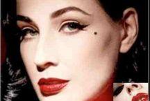 Vintage makeup at it's best!