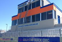 Rabobank Stadium Salinas / So excited to be create the sponsor signs for this amazing stadium.