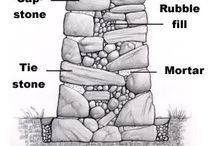 Kamené zídky