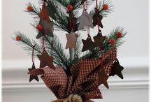 Christmas Trees, Tree skirts & Tree Toppers / by Chellene Morrison
