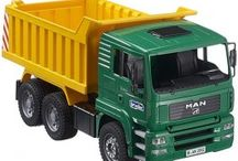 Bruder Construction Trucks / Bruder Construction Trucks by Educational Toys Planet http://www.educationaltoysplanet.com/s/bruder-construction-trucks.html / by Educational Toys Planet