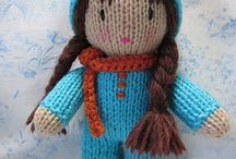 KNIT BABY DOLL