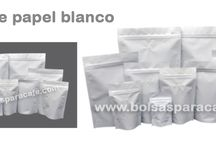 bolsas de papel blanco / Bolsas de papel blanco ....  http://www.bolsasparacafe.com/bolsas-de-papel-blanco/