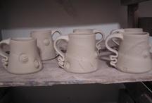 funky ceramic handles