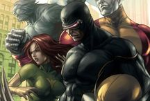 Marvel COMICS DC