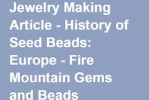 Bead Lore / History, legend and news in the bead world / by TierraCast