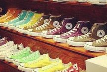 ♥ Converse sneakers and vans♥