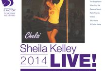 Sheila Kelley LIVE / Sheila Kelley and her apprentices bring a mini 2-day retreat of feminine movement and philosophy to women who desire that extra connection to their erotic creature and to amazing S women from all over.  / by Sheila Kelley S Factor