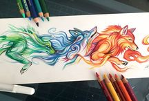 magical creatures art