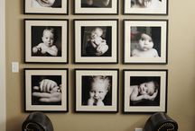 Ways to Place Pictures on Walls / by Jennifer Bell Dietz