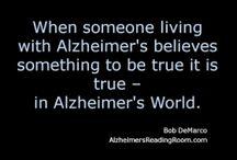 Remember? / Alzheimer's