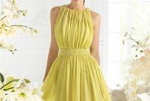 vestido formal corto