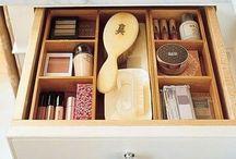 Cosmetics  / Make up organising