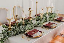 сервировка/столы гостей