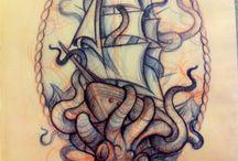 Tatouages de bateau