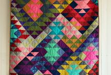 Modern Quilting Fun! / Find lots of inspire for your next modern quilting project!