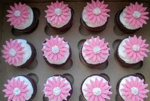 Pink Deasy Cupcakes
