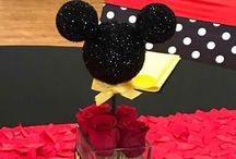 Mickey and minie mouse party