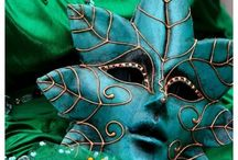 Masks / by PrissaJean
