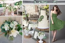 COLOUR: Green / Need some colour inspiration for your wedding party?