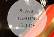 Tech - Stage Lighting & Sound / Stage lighting, sound and special effects. Community theatre tech resources.