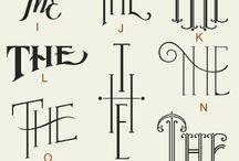 Typografi Handwritten