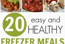 Freezer Meals / by Candy Miller