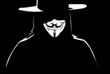 V for Vendetta / Love this movie.  Amazed at how much emotion Hugo Weaving shows while wearing a mask!