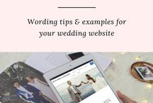 Wedding Wording Examples / Wedding invitation, save the date, and website wording examples. Best etiquette tips for wording examples.