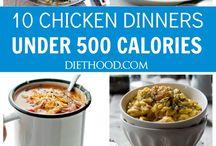 Under 600 calories