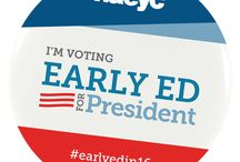 Early Ed for President / Early Ed for President is spreading the word to voters and candidates about the importance of supporting high-quality early childhood education and educators. http://www.earlyedforpresident.org/about/ #EarlyEdin16