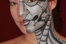 face painting boyish