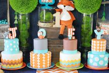 Woodland Creature Themed Party (Boy)