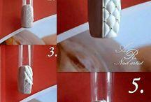 Научиться / МК по дизайну ногтей в картинках