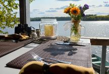 Lakeside Ultimate Romance Dinner / Our Boathouse Bistro is just the spot for an intimate, unique, one of a kind dining experience. Chez Roy will design a menu just for you to enjoy alone in the upper level of our boathouse.