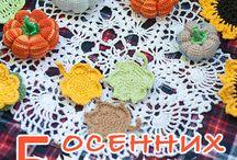 A-ideas Crochet ideas, patterns, diagrams / Вязание крючком: идеи, схемы, мастер-классы