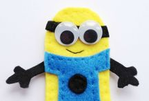Z_201610 - Crocheted Minion Figure
