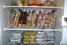 Freezer Meals / make ahead