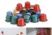 DIY Art with coffee capsules