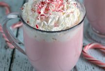 candy cane white hot chocolate