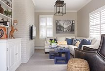 Carrie McCall Design - Family Rooms / Family Rooms designed by CKM Home Design