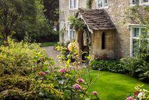 English Cottages/Gardens etc