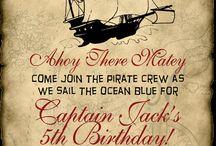 Happy Birthday : Pirates / by Seacoast NH Macaroni Kid