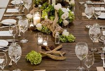 Natural Green and Wood wedding