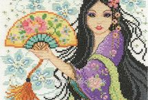 New In - Cross Stitch / A selection of our new in cross stitch kits.